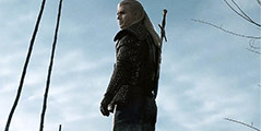 《巫师》公布最新剧照海报 杰洛特面对大海十分帅气