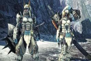 """冰牙龙套装亮相《怪物猎人世界》DLC""""冰原""""新截图"""