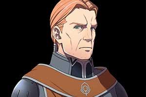 《火焰纹章:风花雪月》新角色:骑士大叔吉尔伯特