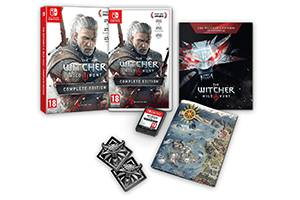 捷克零售网站泄密《巫师3》NS版将于9月24日发售!
