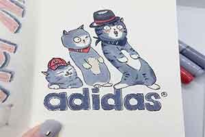 猫奴画师著名商标二创成猫咪 谁敢告喵星人侵权?