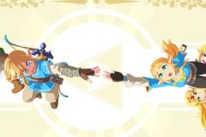 超赞《塞尔达传说》艺术图:完美呈现整个游戏系列!
