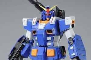 《机动战士高达:战场之绊》全装甲高达蓝色模型赏!