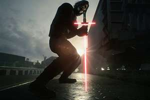《鬼泣5》的《星战》MOD 角色V可使用光剑帅气处决