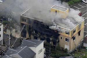 京都动画死亡人数增至34人 所有画作资料全被烧毁!