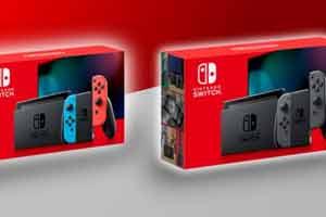 任天堂Switch续航增强版发售 大幅增强电池使用寿命!