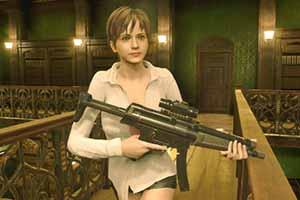 《生化2重制版》新人物MOD:可爱的瑞贝卡有点小性感