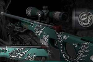 《csgo》x《全战三国》青龙偃月狙击枪 简直帅爆了!
