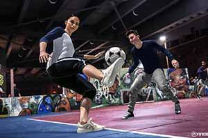 GC19:《FIFA 20》街球模式演示 街头掰头欢乐多!