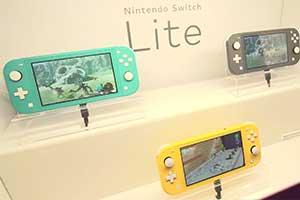 GC19: IGN晒Switch Lite参展照片 三色可选精致便携