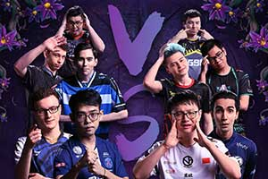 Ti9:《DOTA2》梦幻积分前十选手登台表演全明星赛