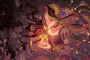 日系好梦幻!知名绘师「河CY」把迪士尼公主动漫化!