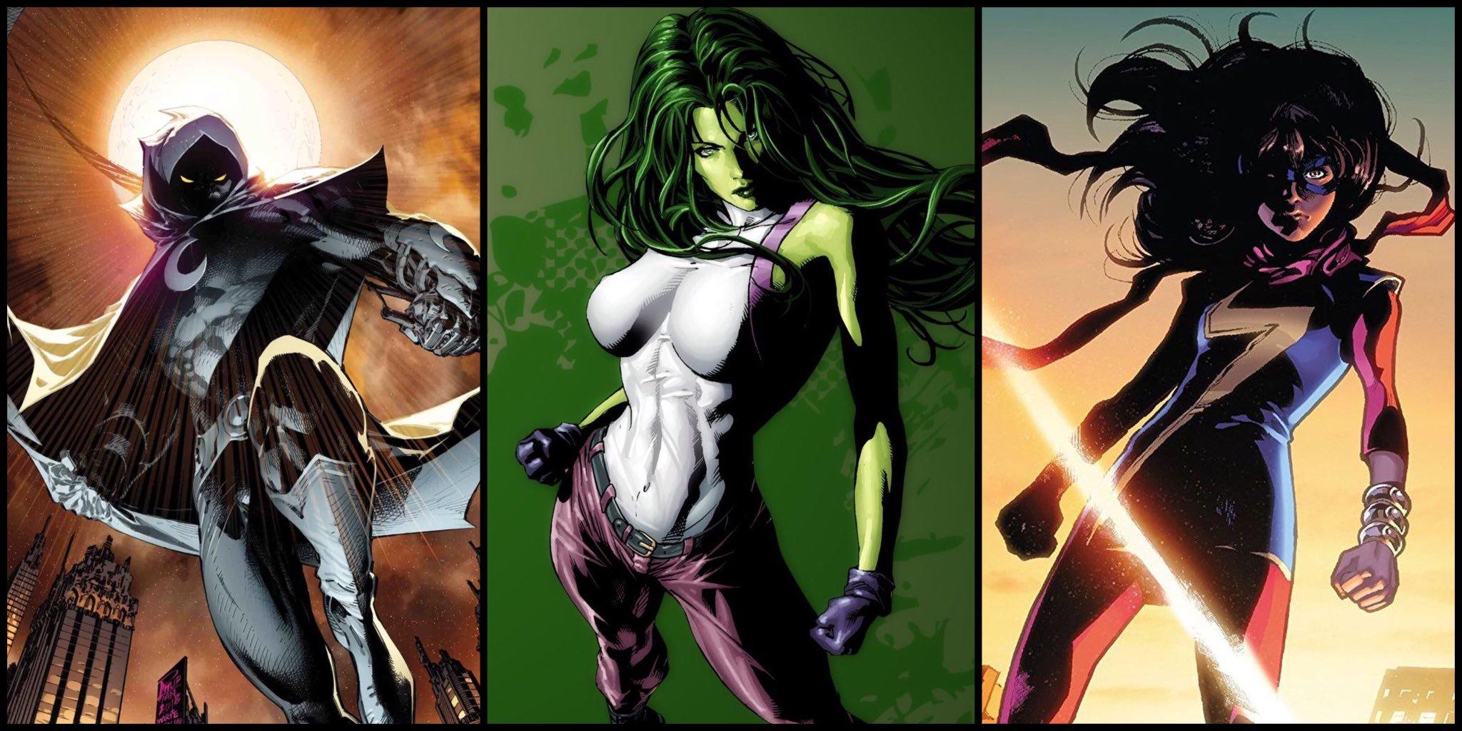漫威电影第4阶段再添3部新作,女浩克等新英雄入场