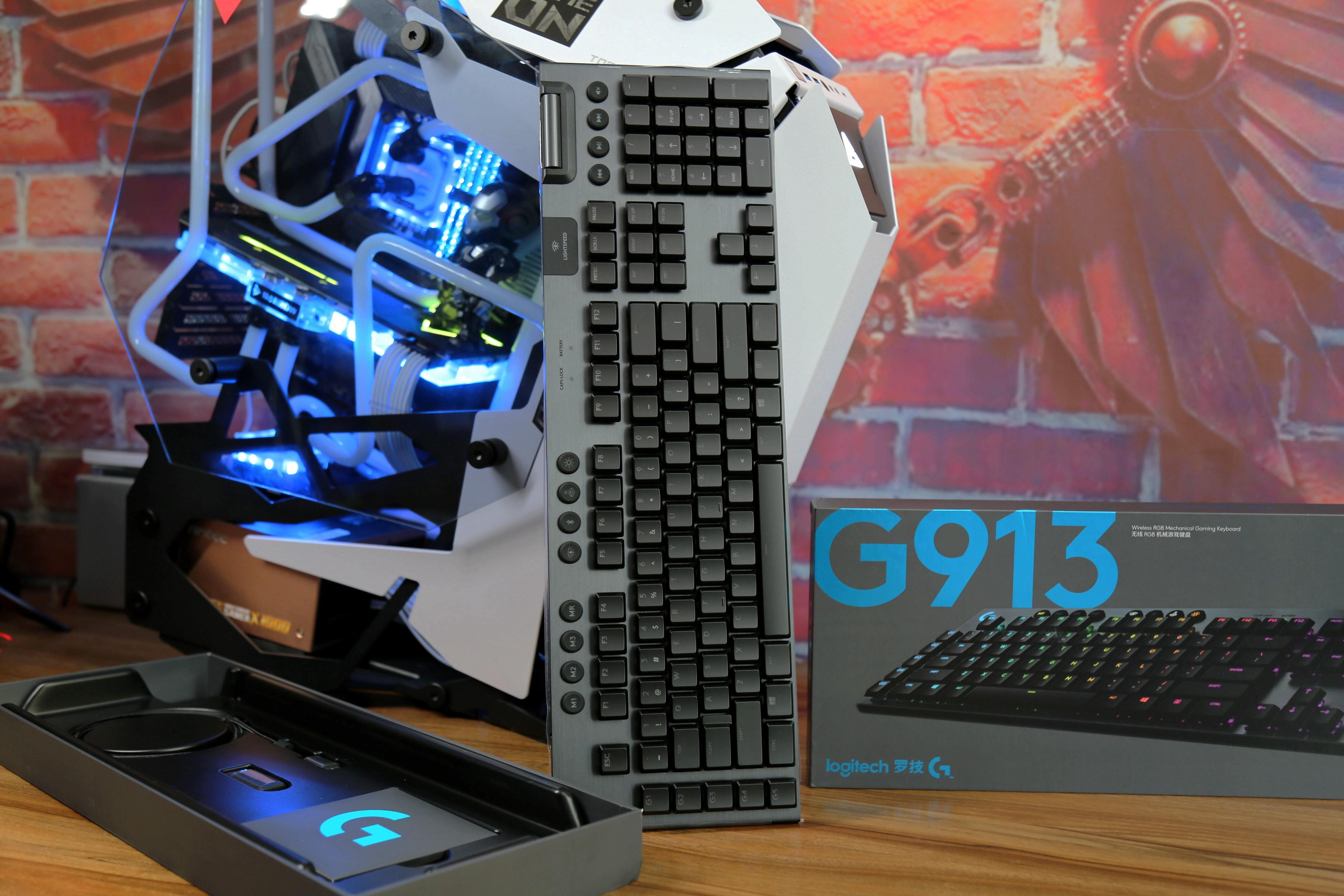 桌面外设全无线进化:罗技G系列全套外设评测