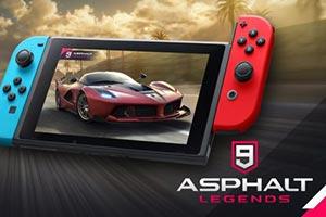 《狂野飙车9:竞速传奇》将于10月9日登陆SWITCH!