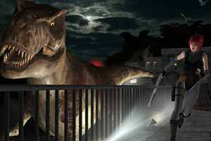 《恐龙危机》重制版试玩影像首曝 蕾吉娜大战迅猛龙!