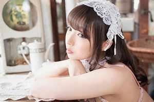 可萝可御丰唇迷人 岛国模特/Coser福田もか写真赏