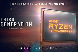 AMD将Ryzen 9 3950X推迟与Threadripper一同发售?