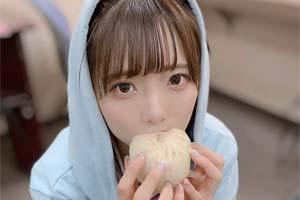 大晚上看饿了!美少女偶像福山梨乃吃播现场特辑