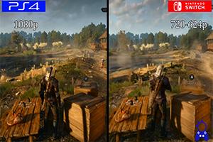 《巫师3》PS4/Switch版画面对比 画质阉割但帧数稳定