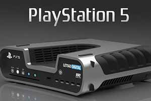 外媒为PS5开发机渲染图自制配色 不一样的船新版本!