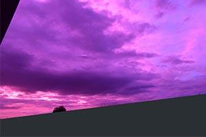 """19号超强台风""""海贝思""""逼近日本多地出现粉紫色天空"""