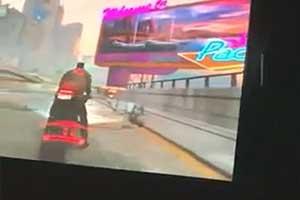 《赛博朋克2077》屏摄公布 观察系统契合UI酷劲十足