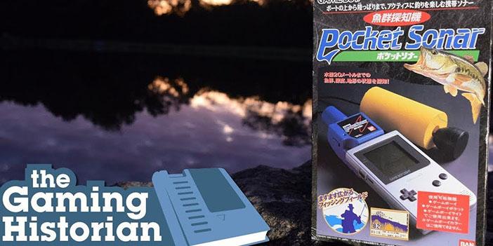 """视频 5分排列3走势—5分快三史学家:Game Boy钓鱼利器""""口袋声呐"""""""