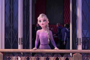 艾莎太美了!《冰雪奇缘2》艾莎女王绝美剧照欣赏