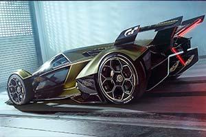 兰博基尼发布概念超跑VGT:超炫四驱车有市无价!