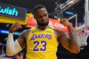 破纪录!詹姆斯总进球数超越乔丹 升至NBA历史第4位
