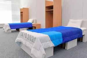 """经费不足?东京奥运村用硬纸板做床太""""简陋""""引群嘲"""