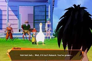 PC《龙珠Z:卡卡罗特》MOD 赛亚「鹅」出击叼走悟饭