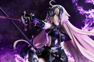 《Fate/Grand Order》黑贞德手办 紫焰缠身邪魅十足!