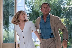 《007:无暇赴死》曝光剧照&封面写真 邦女郎白裙优雅