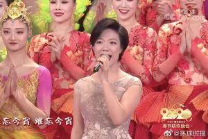 中国人的共同回忆!小龙女与李谷一合唱《难忘今宵》