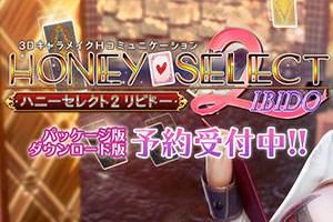 社保力作《Honey Select2》发售日公布 特典极致魅惑!