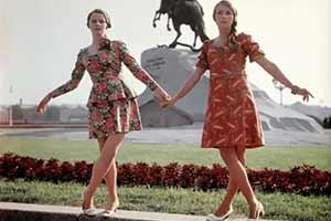1968年的俄罗斯姑娘这么时尚?27张珍贵罕见的历史照片