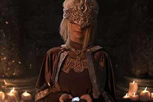 毛妹COS《黑魂3》防火女 老婆气质高冷美到窒息!