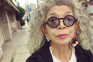 日本一奶奶穿搭火爆网络 仅一组照片就引8万人点赞!