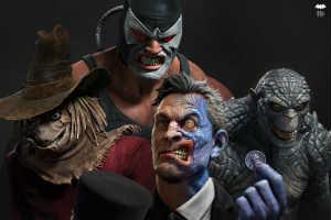 《战神》艺术总监自制《蝙蝠侠》反派形象图 太帅了!