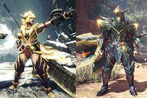 《MHW:I》猛爆碎龙&激昂金狮子装备赏 新增武器幻化