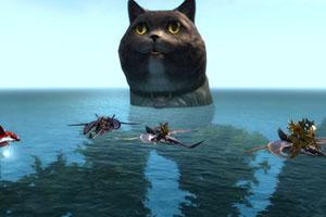 2020年5分排列3走势—5分快三中的愚人节彩蛋精选 《激战2》惊现巨大猫猫