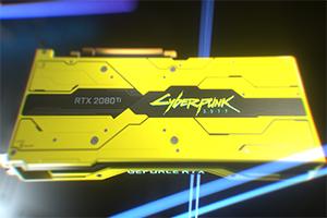 《赛博朋克2077》限量版2080 Ti显卡被天价拍卖!