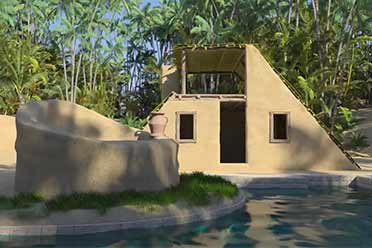 在丛林荒野建造豪华房屋!新游《丛林小屋》预告赏