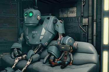 小女孩与工具机器人的寻父之旅《英科迪亚》更新中文