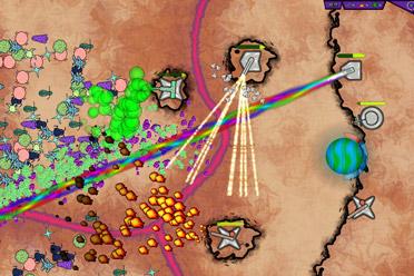 科幻风格的策略塔防游戏《群居行星》游侠专题上线