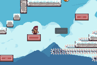 2D平台硬核游戏《头骨的诅咒中的埃迪希尔》专题上线