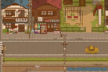 像素图形脚色表演游戏《天虹书店》游侠专题站上线