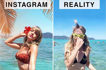 德国美女揭秘美照的背后!网红的ins美照VS现实